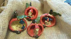 Jablko /keramika v MŠ