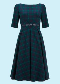 Pretty Dress Company: Hepburn Dress, Tartan