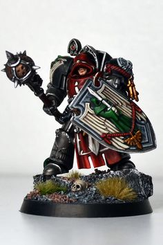 Guardians of the Covenant DW Knight Warhammer Dark Angels, Dark Angels 40k, Warhammer Art, Warhammer Models, Warhammer 40k Miniatures, Warhammer 40000, Fallen Angels, Legion Characters, Angel Of Death