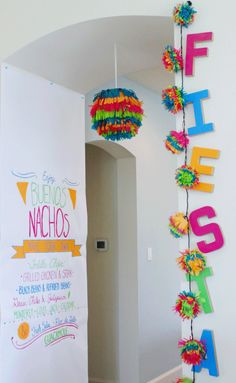 Fearless Fiesta Party with Colorful Menu