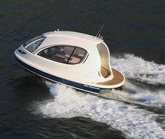 A Jet Ski and a Yacht Had A Baby! Check Out The New 2014 Jet Capsule.