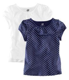 tshirt packs for amelia, 4.99, h and m
