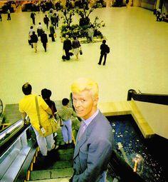 db-ninja:  David Bowie,1983  Business Man Bowie