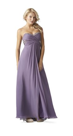 Sweetheart Partially Beaded Gown by Aidan Mattox