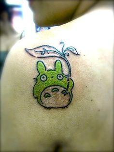 Chiara Sgubbi's new Totoro tattoo :)