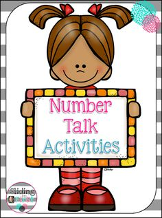 Number Talks in First Grade, Sliding into First!, math talks, number talks, addition, subtraction, 1st grade, freebie, math, how to use number talks in primary grades