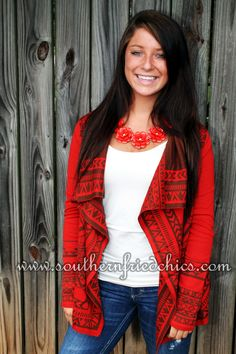 Tilly Sweater in Rust $49.99!