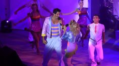 All night long/Poolshow - Angel - Eszter&Marc costume design dirk zilken dzd for AIDA