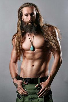 long haired men in kilts or skyclad ~ yee haw! kn