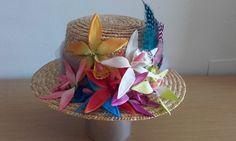 Valentino icon Hat Boater Head Dress Jumpsuit Celebrities Flowers Feathers Tulle #Handmade #PartyEveryDayGoodLookWedding
