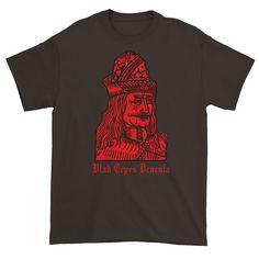 Vlad Tepes Dracula Double Sided Short sleeve t-shirt