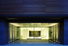 The entrance to a Japanese Modern home!