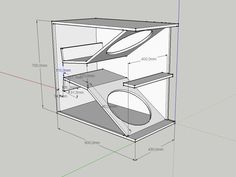 New DIY double 15 bass/kick 15 Inch Subwoofer Box, Diy Subwoofer, Subwoofer Box Design, Speaker Box Design, Subwoofer Speaker, Audio Amplifier, Sub Box Design, Speaker Plans, Audio Design