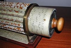 Thacher's slide rule