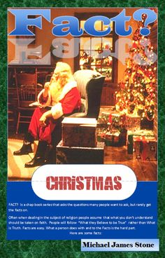 The ChapBooks of Michael James Stone: Fact? Christmas: Cover