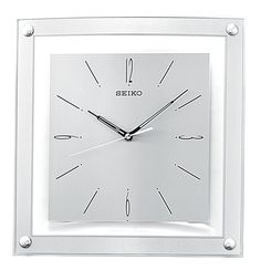 Square Floating Dial Wall Clock $55.00
