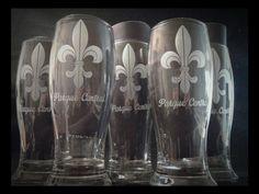 Souvenirs vasos. Grabado personalizado.