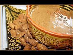 Amlou Recipe :Moroccan almond with Argan oil dip/ Pâte à tartiner d'huil...