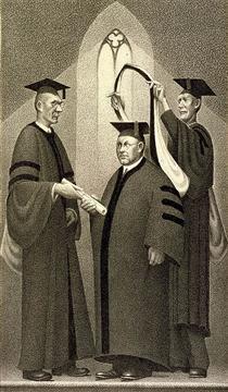 Honorary Degree - Grant Wood
