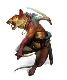 Redwall Races - Rat by chichapie.deviantart.com