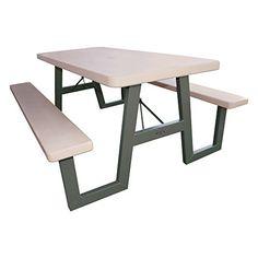 Lifetime 60030 W-Frame Folding Picnic Table, 6 Feet Lifetime http://www.amazon.com/dp/B0041111W0/ref=cm_sw_r_pi_dp_Zz.fxb0WSHNE0