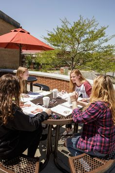 Whether you're meeting for coffee or to study, #Alvernia offers plenty of places for students to gather!