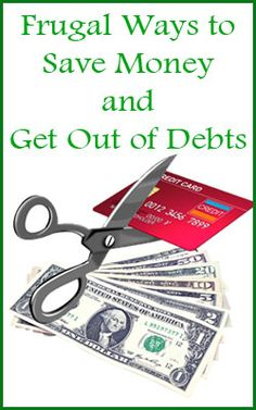 frugal ways to save money and get out of debt! #inspireothers