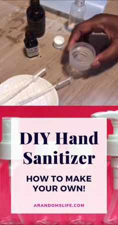 DIY Hand Sanitizer - How to Make Your Own! DIY hand sanitizer with essential oils and aloe vera gel. One word: Triclosan…watch this video to find out more and get my hand sanitizer recipe… Alcohol Free Hand Sanitizer, Natural Hand Sanitizer, Hand Sanitizer Dispenser, Home Made Hand Sanitizer, Best Hand Sanitizer, Natural Disinfectant, Disinfectant Spray, Baking Soda Shampoo, Honey Shampoo