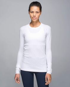 White Rest Less Pullover