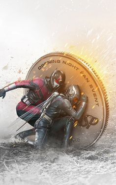 Marvel - Ant-man and the Wasp Marvel Dc Comics, Marvel Avengers, Marvel Fan, Marvel Heroes, Wasp Avengers, Marvel Characters, Marvel Movies, Manga Comics, Avengers Wallpaper