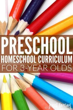 Preschool Homeschool Curriculum for 3-year olds (our entire lesson plan along with how we organized our plan).