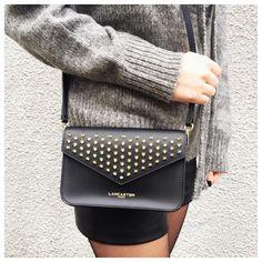 Instagram By Bag Wearing Clutch Black On Studs lancasterparis ellesfontlapaire Our Lancaster q8f4B
