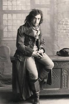 Photographic Print: John Martin Harvey (1863-194), English Actor, 1906 : 24x16in