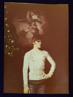 Mikhail Baryshnikov during the taping of the TV version of his 'The Nutcracker', 1977, Toronto, Canada