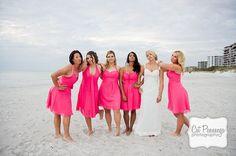 Longboat Key Club & Resort Wedding. Bridesmaids poster inspired!