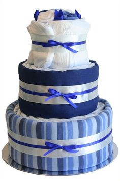 Ultimate Nappy Cake - Blue