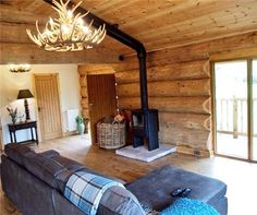 A scan 8-2 we installed in a luxury holiday log cabin, looks stunning.