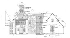 This is the final of a three part series on the art of the near-lost art of hand drawing in the practice of architecture.In my last two posts (or soapboxes, I suppose), I discussed the art of hand drawing in architectural sketches and devel. Vintage Architecture, Architecture Portfolio, Historical Architecture, Architecture Plan, Amazing Architecture, Architecture Details, Architecture Diagrams, Construction Drawings, Construction Design