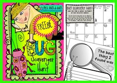 *** FREEBIE! *** Not a fan of Creepy Crawlies? Then this is not the activity for you! This bug scavenger hunt is an engaging, fun and busy activity suitable for a large group of children. Includes a scavenger hunt recording sheet plus a writing template to record their bug hunting fun!