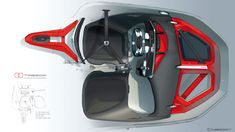 In 2006, Renault's newly-appointed head of design Laurens van den Acker, initiated his innovative design strategy. Following a philosophy of the human life cycle, whereby people fall in love, mature, start a family and get wise, he created a series of concept studies which led to a complete aesthetic overhaul of the Renault product portfolio.