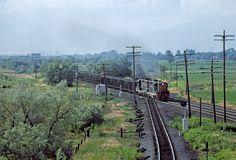 USA Denver & Rio Grande Western Railroad, Orem, Utah, EMD GP9