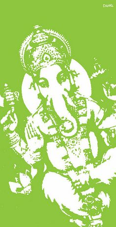 Ganesh is the elephant-headed Hindu god, the remover of all obstacles in one`s life path.