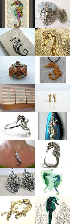 *~* Seahorse *~* by Kady J Johnson on Etsy--Pinned with TreasuryPin.com