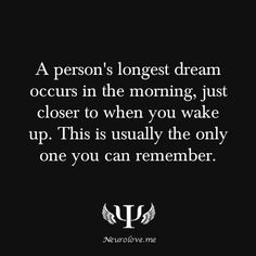 well i usually remember more than one dream but this might be why i want to go back to sleep and try to remember my dream, cuz so vivid Psychology Fun Facts, Psychology Says, Psychology Quotes, Dream Psychology, Cognitive Psychology, Forensic Psychology, Color Psychology, Facts About Dreams, When I Dream