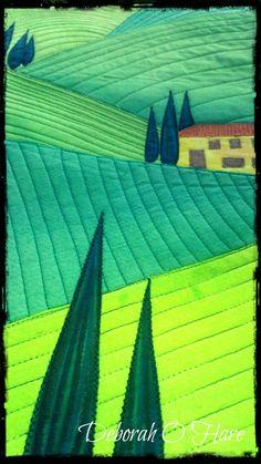 Love this landscape quilt.