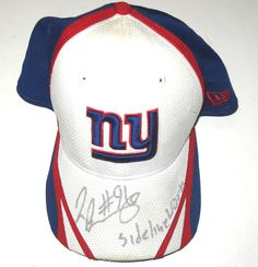 new arrivals adae9 a41ba Jay Bromley Sideline Worn   Signed New York Giants New Era Hat Jay Bromley,  New