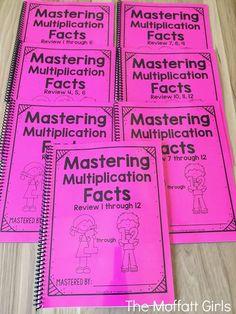 Mastering multiplication facts is such an important skill for grade students. As a former grade teacher, I fully understand how c. Math Fact Fluency, Teaching Multiplication, Teaching Math, Maths, Teaching Ideas, Math Skills, Math Lessons, Fourth Grade Math, Basic Math