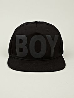 Boy London Boy Cap - first thing I pinned that I actually own