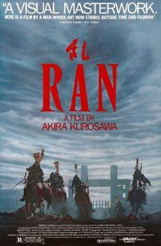 Ran movie poster in Best 250 Movies