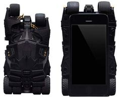 Batman Tumbler iPhone Case Comes With Built-In LED Projector By Tyler Lee on 12/12/2013